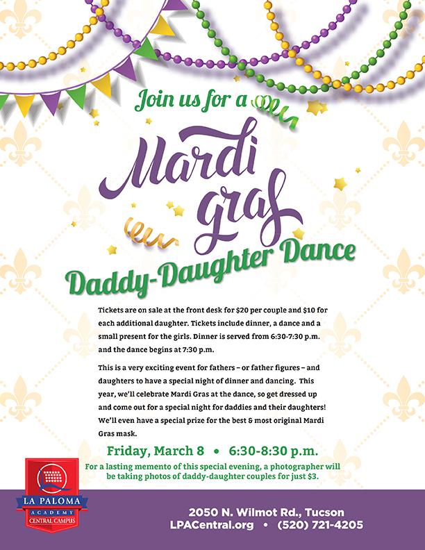 Daddy-Daughter Dance | LPA Central Charter School