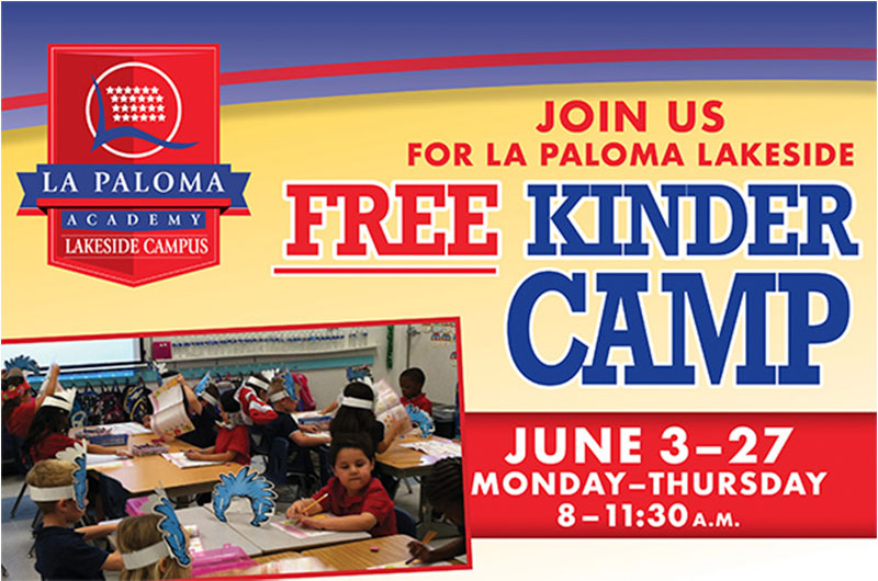 Enroll Now for Lakeside's FREE Kinder Camp