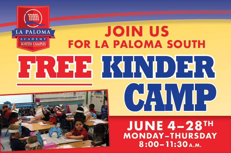Join Us for Free Kinder Camp
