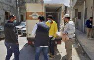استمرار توزيع الخبز على المواطنين ببلدية طرابلس المركز