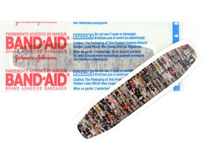photo of Band-Aid Cynthia Rowley custom bandages