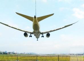 台北/假日看飛機:松山機場觀景台、濱江街180巷跑道頭