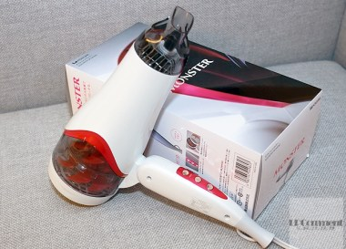 雙渦輪!KOIZUMI小泉成器MONSTER KCD-W701大風量負離子吹風機開箱實測 @LPComment 科技生活雜談