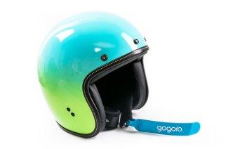 美觀、舒適、安全:Gogoro限量漸層渲染安全帽開箱