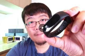 小米手環2開箱、配對、簡單動手玩