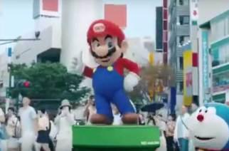 2020東京奧運接棒!日相安倍晉三化身瑪利歐,與日本動漫群星現身里約奧運閉幕式