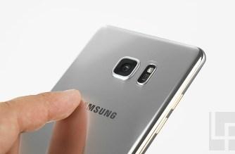 Samsung Galaxy Note 7 極地銀