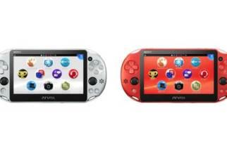 SIE公佈銀、金屬紅兩款PlayStation Vita遊戲機新色