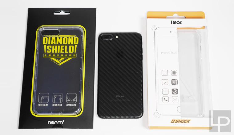 iPhone 7 / 7 Plus兩款抗摔殼開箱:imos Q-SHOCK硬式保護殼、norm+金鋼盾氣墊空壓殼