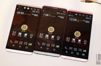 雙螢幕、雙鏡頭、高音質、可換電池:LG V20旗艦在台發表!售價21900