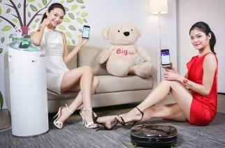 WiFi連線更方便!LG發表遠控版CordZero掃地機器人與PuriCare大白空氣清淨機