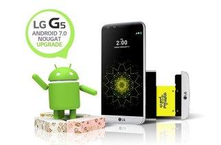 樂金宣布台灣LG G5可升級Android 7.0 Nougat牛軋糖