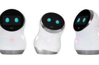 LG發表四款機器人,涵蓋家庭互動、機場導覽清潔、草皮整理