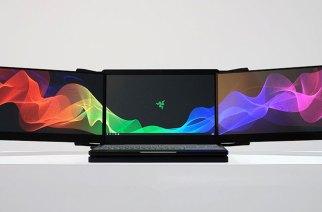 Razer展出Project Valerie概念筆電:一台內建三面4K螢幕的巨獸 @LPComment 科技生活雜談