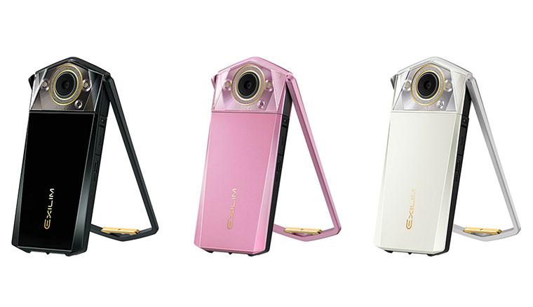 新款自拍神器CASIO EX-TR80上市 內建9000種以上美顏設定