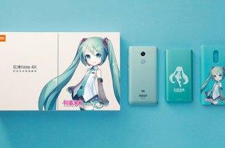 小米攜手虛擬歌姬,紅米Note 4X初音版正式發表!