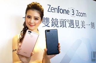 ASUS ZenFone 3 Zoom雙鏡頭拍照機即日開賣售價14990