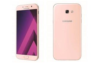 Samsung A5 / A7 (2017) 魅桃粉2月中上市 台中健檢2/10開跑