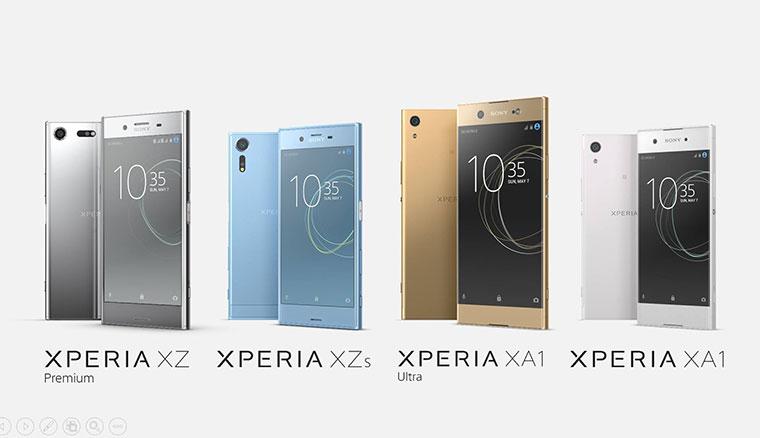 Sony發表Xperia XZ Premium、XZs等四新機!首搭4K HDR螢幕、新相機支援960fps錄影