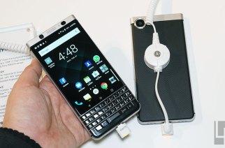 實體QWERTY鍵盤經典造型:BlackBerry KEYone黑莓新機動手玩