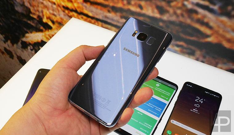 Samsung Galaxy S8四色到齊:薰紫灰、冰湖藍、晶墨黑、流沙金你喜歡哪款?
