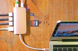 innerexile推出USB-C八合一多功能集線器Solo All in one Hub