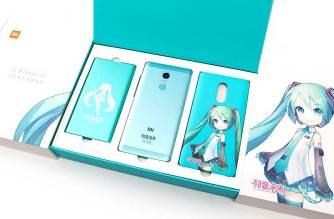 初音未來Miku特別版紅米Note 4x開箱!與普通版本比一比