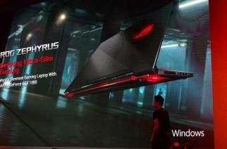 華碩ROG發表NVIDIA MAX-Q超薄電競機ROG Zephyrus