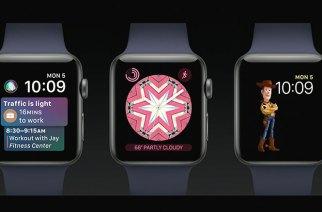 蘋果發表WatchOS 4.0:加入卡片介面與玩具總動員等新錶面