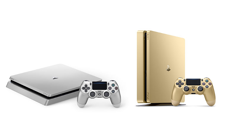 PlayStation 4新增金銀雙色,期間優惠PS Store指定遊戲最高25折