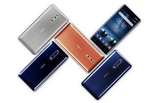 諾基亞首款旗艦Nokia 8正式發表,配備13MP蔡司雙鏡頭並支援前後同時拍攝功能