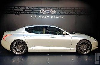Thunder Power Sedan電動車正式在台亮相,本地售價約245萬!另有全球限量488輛的豪華限量版