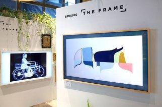 藝術畫框般設計 三星The Frame系列電視正式進入台灣