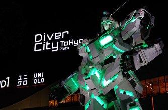 鋼彈粉絲朝聖新據點:東京台場1:1獨角獸鋼彈立像與The Gundam Base Tokyo