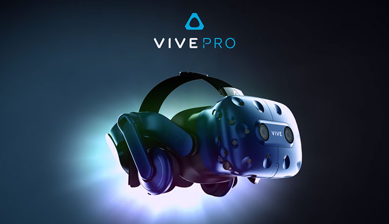 HTC Vive Pro發表!搭載解析度更高的OLED螢幕、正面配備雙鏡頭