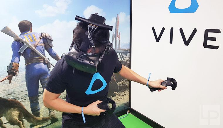 更完美VR體驗!HTC Vive Pro與Vive無線模組動手玩(TpGS 2018 Vive展出內容與優惠整理)