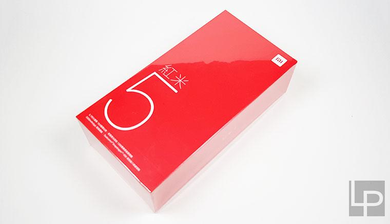 紅米 5 開箱