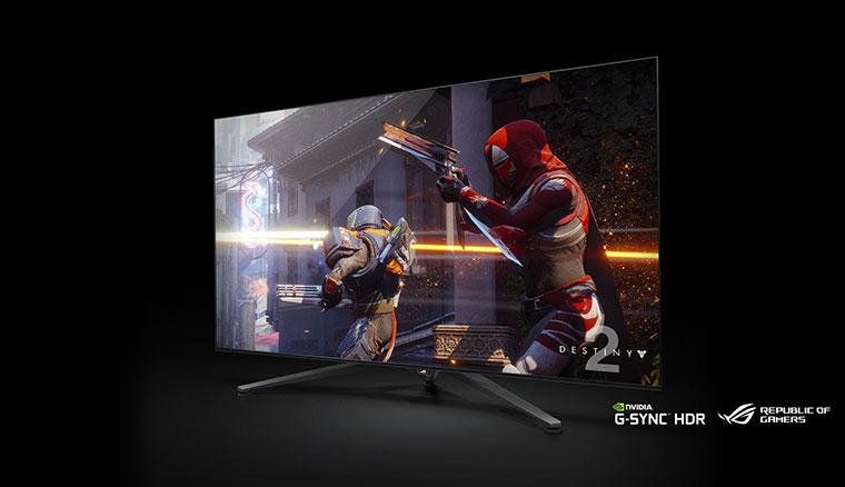 超爆大!華碩ROG於發表65吋電競顯示器ROGSwift PG65