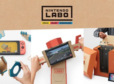 《任天堂實驗室》公布!以瓦楞紙打造Switch體感遊玩裝置! @LPComment 科技生活雜談