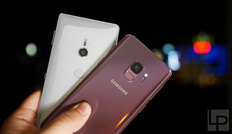 Sony XZ2、三星S9相機實拍PK!日夜拍/自拍/錄影/超慢動作錄影