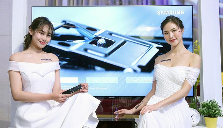 2018三星QLED量子電視65吋Q9F 開箱!最高顏質與創新變色龍功能、極致畫質十年不烙印