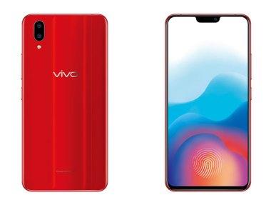 隱形指紋手機vivoX21推出新色「炫光紅」 @LPComment 科技生活雜談