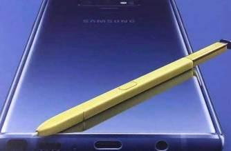 疑似三星Note 9宣傳圖曝光!機身與S Pen將採撞色設計? @LPComment 科技生活雜談