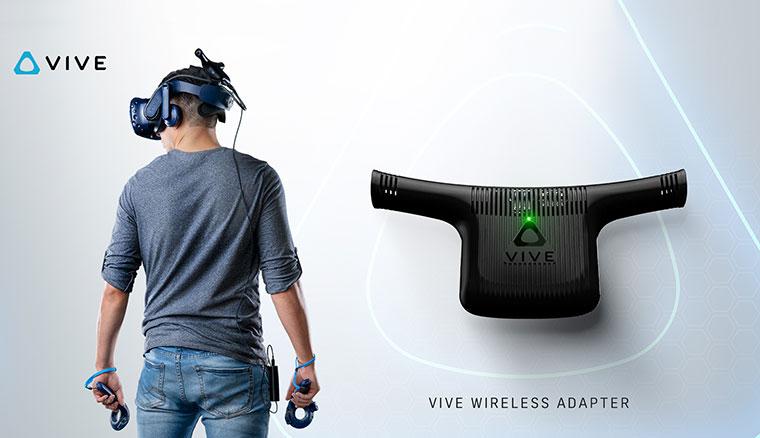 HTC宣布9/5開放一般用戶預購Vive無線模組,買就送2個月VivePORT