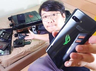 華碩ROG Phone電競手機+周邊超級大全配開箱!動手玩與效能實測 @LPComment 科技生活雜談