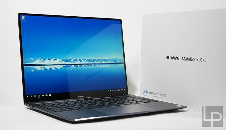 HUAWEI MateBook X Pro頂級輕薄筆電開箱!超高91%屏佔比與隱藏式鏡頭設計