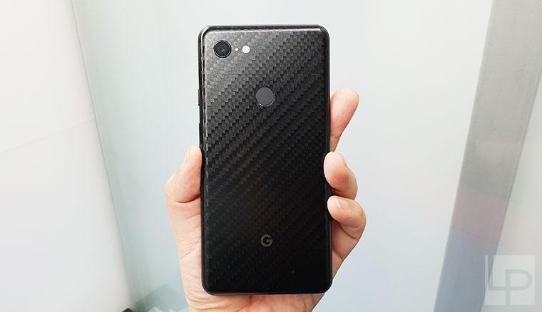 Google Pixel 3 XL純粹黑碳纖維包膜、imos 3SAS保護貼體驗!直擊保護貼開發製作的過程!
