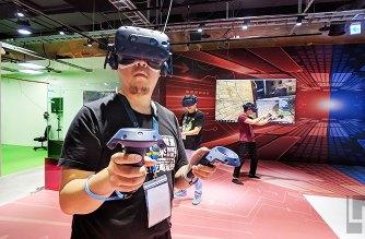 全台最大VR遊樂場「KosmoSpot x VIVELAND」高雄大魯閣草衙道登場! @LPComment 科技生活雜談