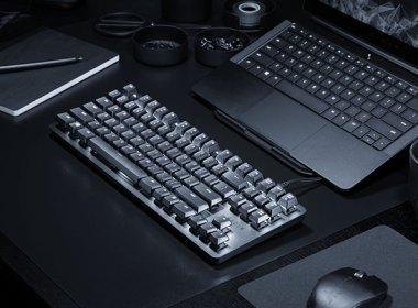 雷蛇推出BlackWidow Lite辦公室鍵盤,採80%布局與Razer橘軸 @LPComment 科技生活雜談