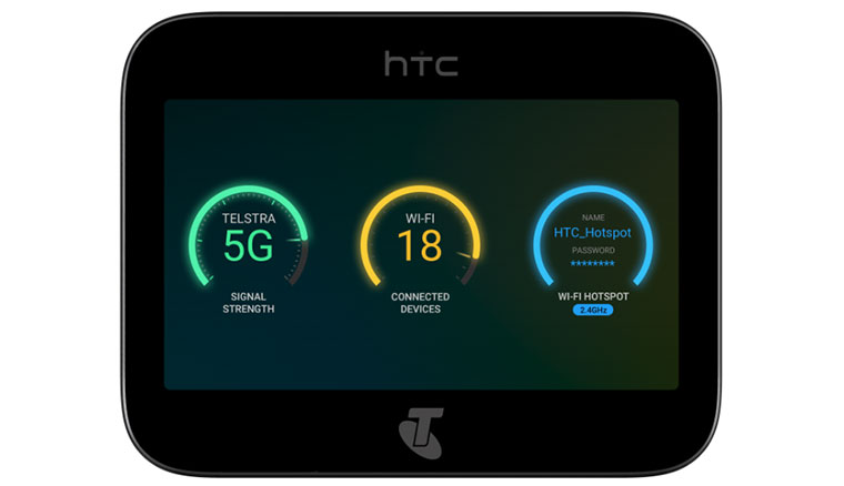 HTC宣布攜手澳洲Telstra電信於2019推出5G mobile smart hub